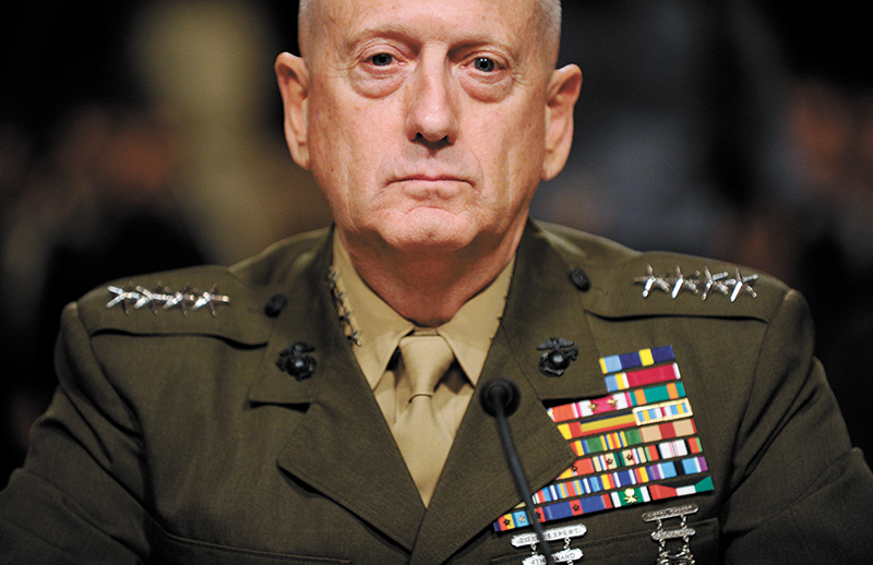 photo of General Mattis